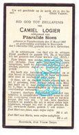 DP Camiel Logier ° Passendale Zonnebeke 1867 † Moorslede 1931 X Pharailde Sioen - Devotieprenten