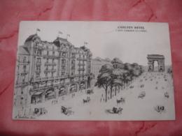 Illustrateur Carlton Hotel Paris Champs Elysees - Hotel's & Restaurants