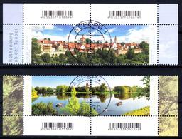 Bund - Neuheiten 2019  Mi. 3544-45 + 3401-02  - Rundgestempelt - [7] République Fédérale