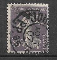 France N° 142   Oblitéré   Cachet Des Journaux   Paris 31/08/1907   B / TB     Soldé    à Moins De 10  % ! ! ! - Journaux