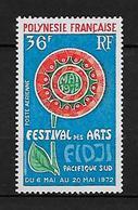 POLYNÉSIE 1972 . Poste Aérienne  N° 63 . Neuf ** (MNH) . - Poste Aérienne