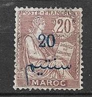 Maroc N° 31   Oblitéré      B / TB   Très Bien Centré   Soldé    à Moins De 10  % ! ! ! - Used Stamps