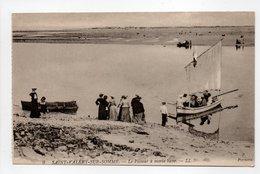 - CPA SAINT-VALÉRY-SUR-SOMME (80) - La Passeur à Marée Basse (belle Animation) - Editions Lévy N° 9 - - Saint Valery Sur Somme