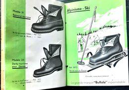 CHAUSSURES CORDONNERIE SOULIER CATALOGUE MAISON VOGEL ALPINISME RANDONNEE SKI AVIATION TRAVAUX TRES BON ETAT - Textile & Clothing