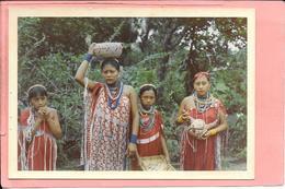 Photo D'indiens Des Profondeurs De Guyane (texte Au Dos) - Ethniques, Cultures