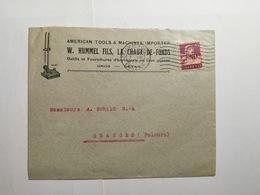 Enveloppe  Suisse 1922 - Suisse