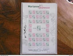FRANCE 2013 F4774B * * MARIANNE DE LA JEUNESSE FEUILLET COMPLET - Blocs & Feuillets