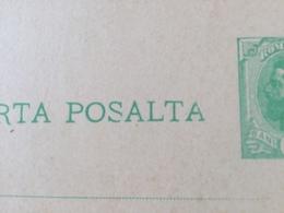 KS1 Rumänien Ganzsache Stationery Entier Postal P 35 Mit Druckfehler Posalta An Stelle Von Postala - Entiers Postaux