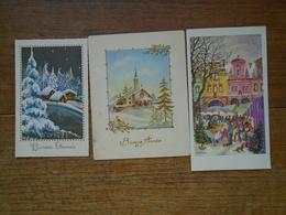 3 Cartes De Bonne Année - Anno Nuovo