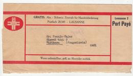 Switzerland, Newspape Wrapper Gratis Port Paye B200405 - Schweiz