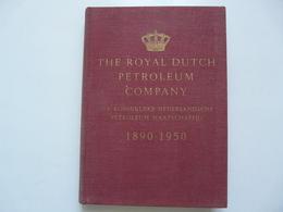THE ROYAL DUTCH PETROLEUM COMPANY - DIAMOND JUBILEE BOOK - Earth Science
