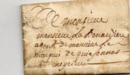 L.A.C. De VASSELIN Pour MEYRIEU Le 16/12/1782. - 1701-1800: Precursors XVIII