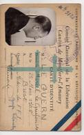 A     Carte D'identité F.F.I CANTON DE MONTFORT L'AMAURY Médecin F.F.I  Groupe Libération - Postmark Collection (Covers)