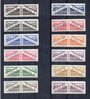 San Marino - 1928 - Pacchi Postali - 12 Valori Non Dentellati Tra Le 2 Sezioni - Nuovi  ** - (FDC21204) - Colis Postaux