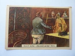 "Figurina Tedesca KAUGUMMI BULL ""Serie  37  Karl May: KUHNE AUSFARHT NACH OSTEN Bild 2"" - Cromo"