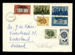 October 6, 1964 Cover Sent From Oslo To Dirksland, The Netherlands. Nice Franking. (D-341) - Briefe U. Dokumente