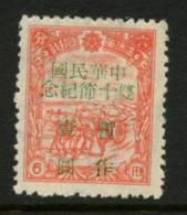 Overprinted Manchuria Stamp. MNH STANLEY GIBBONS #23. (c-669) - Chine Du Nord-Est 1946-48