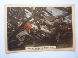"Figurina Tedesca KAUGUMMI BULL ""Serie  36  Karl May: BEI DER ESKIMOS Bild 5"" - Other"