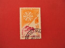 """1960  Oblitéré   N° 1306  """"  Le Mont Dore  """"    Net   0.30    """"marseille"""" - 1961 Marianne De Cocteau"""