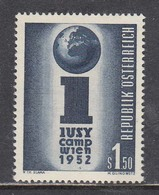 Austria 1952 - Grosslager Der IUSY, Mi-Nr. 974, MNH** - 1945-.... 2nd Republic