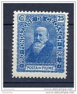 FIUME 1919 -PRO FONDAZIONE N° 74 MNH** - Fiume