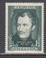 Austria 1952 - Nikolaus Lenau, Mi-Nr. 975, MNH** - 1945-.... 2nd Republic