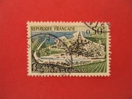 """1960  Oblitéré   N° 1314  """"  Cognac  """"    Net   0.20    Photo  1 - 1961 Marianne De Cocteau"""