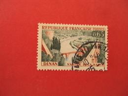"""1960  Oblitéré   N° 1315  """"  Dinan  """"    Net   0.30    Photo  1    """"  Paris"""" - 1961 Marianne De Cocteau"""