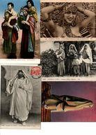 MAGHREB...ALGERIE..MAROC..TUNISIE..LOT DE 9 CPA...FEMMES ...VOIR SCAN...LOT A458 - Femmes