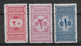 Arabie Saoudite Taxe N°1/3 - Neuf * Avec Charnière - TB - Saudi Arabia