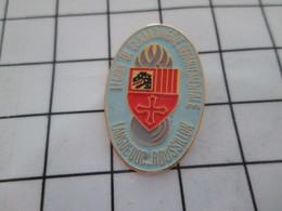 916b Pin's Pins / Beau Et Rare / THEME : MILITARIA / LEGION DE GENDARMERIE DEPARTEMENTALE LANGUEDOC ROUSSILLON - Militari