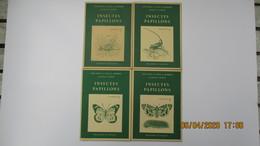 INSECTES ET PAPILLONS / POCHETTES 5 à 8 / 48 IMAGES / DELACHAUX Et NIESTLE - Other