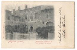 Cartolina-Postcard,  Viaggiata (sent) - Arezzo, Anghiari, Palazzo Comunale - Arezzo