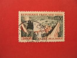 "1960  Oblitéré   N° 1315  ""  Dinan  ""    Net   0.30    Photo  2   ""  Chambery, Savoie"" - 1961 Marianne De Cocteau"