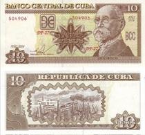 CUBA 10 Pesos P 117 P 2014 UNC - Cuba