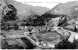 ROUTE DE MOUTIERS -AIME ,USINE DE LA PLOMBIERE   REF 65167 - Moutiers