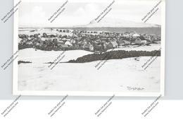 FOROYAR / FAEROERNE / FÄRÖER - THORSHAVN / TORSHAVN Im Schnee - Islas Feroe