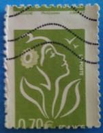 France 2006 : Type Marianne De Lamouche Piquage à Cheval N° 3967 Oblitéré - Varieties: 2000-09 Used