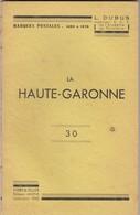 CATALOGUE MARQUES POSTALES HAUTE-GARONNE DUBUS - France