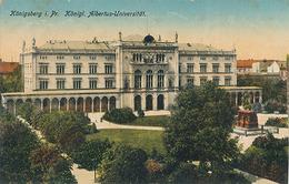 KONIGSBERG - N° 4716/5 - KONIGL. ALBERTUS UNIVERSITAT - Russia