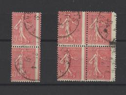 FRANCE.  YT   N° 199  Obl  ( Piquage à Cheval)  1924 - Variedades Y Curiosidades