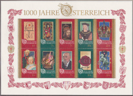 Ku_ Österreich - Mi.Nr. Block 12 - Postfrisch MNH - Blocks & Sheetlets & Panes