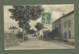 CARTE POSTALE 21 COTE D OR  LES LAUMES LA POSTE ROUTE DE POUILLENAY - France