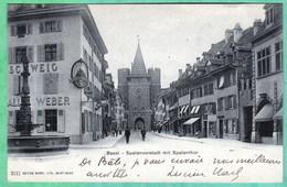 BASEL - SPALENVORSTADT SPALENTHOR - BS Basle-Town