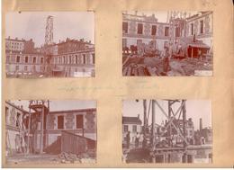 Externat Des Pères Jésuites Rue Bossuet 2 Mars 1892 - Ensemble De 8 Photos (11,5cm X 8cm) - Lyon 6