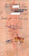 B 3322 - Assegno Banca D'Italia 1937, Pontedera, Addis Abeba - Assegni & Assegni Di Viaggio