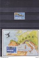 GIBRALTAR 1978 GIBRALTAR VU DU CIEL Yvert 371 + BF 5 NEUF** MNH - Gibilterra