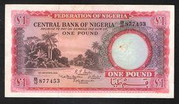 NIGERIA  1 ФУНТ   1958 - Nigeria