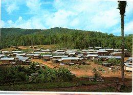 CPM  -  Guyane  - Village Des Hmong    - écrite - Guyane