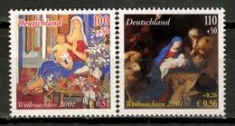 Germany 2001 Alemania / Christmas Joint Issue Spain MNH Nöel Navidad Emisión Conjunta España Weihnachten / Kq11  31-46 - Navidad